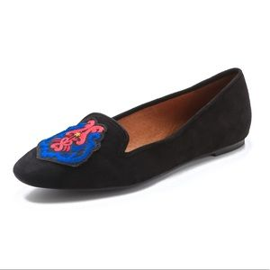 Rebecca Minkoff - Suede Black Loafers - Worn once!